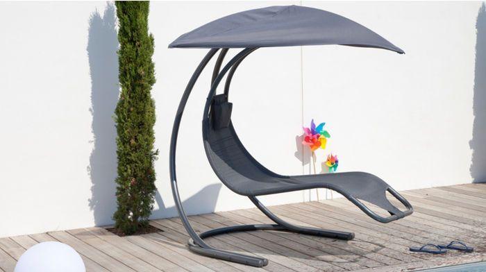 Chaise longue suspendue Zen