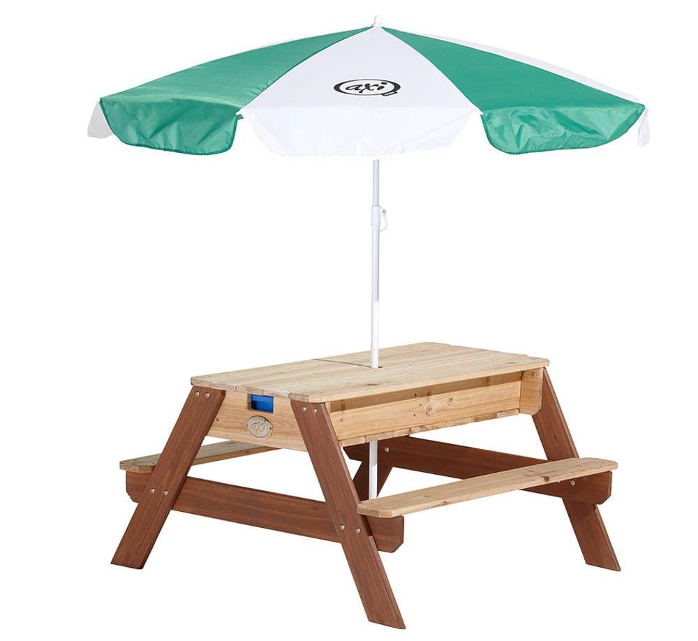 Table de jeu sable et eau en cèdre