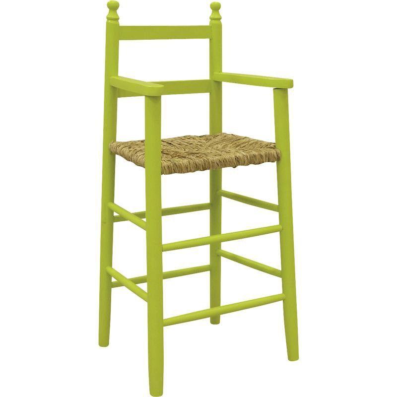 Chaise-haute-pour-enfant-en-hetre miniature 4
