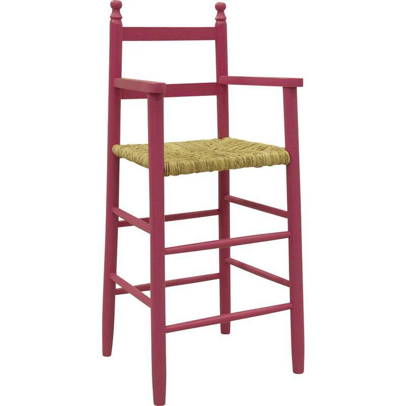 Chaise-haute-pour-enfant-en-hetre miniature 8