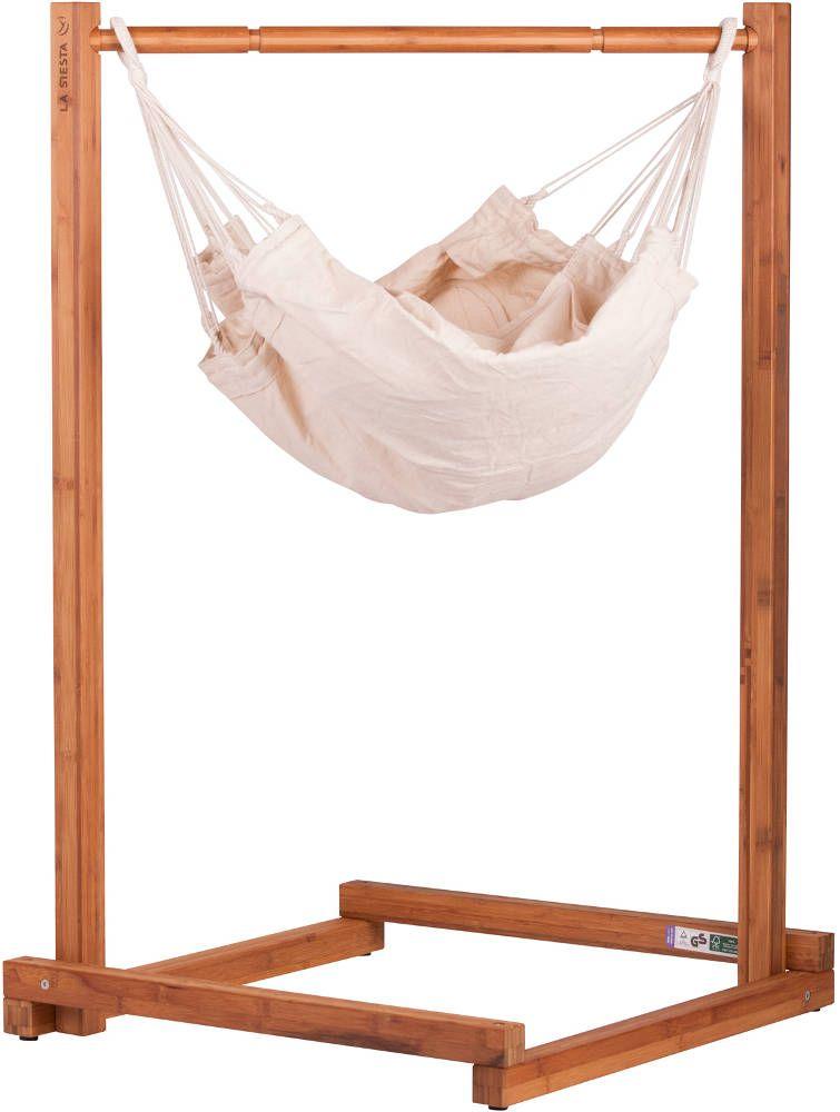 Hamac pour bébé avec support Yayita en coton et bambou