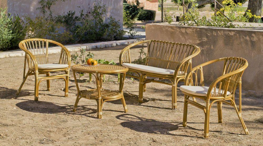 Salon jardin rotin salon jardin résine tressée | Slowhand photography