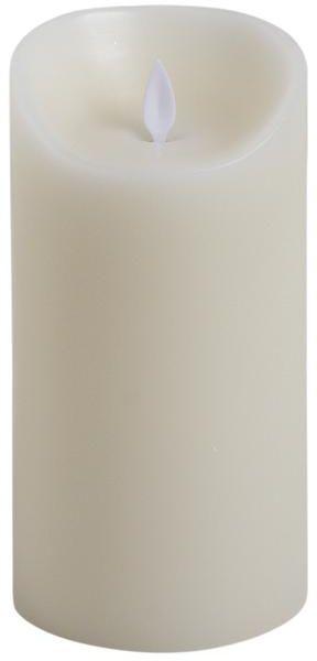 Bougie à LED oscillante en cire véritable 9,5cm de diamètre Taille 2