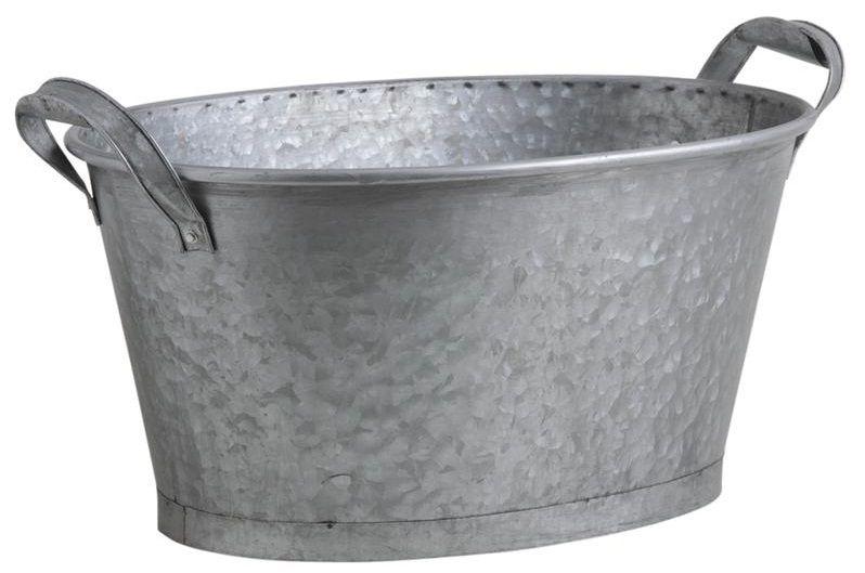 Finition brosse mat riau principal zinc dimensions - Jardiniere zinc rectangulaire ...