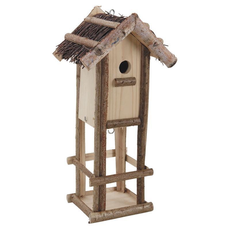 Nichoir et mangeoire pour oiseaux