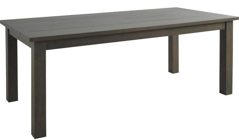 Table en Bois noir 6 personnes