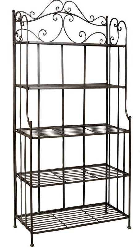 etagere jardin metal. Black Bedroom Furniture Sets. Home Design Ideas