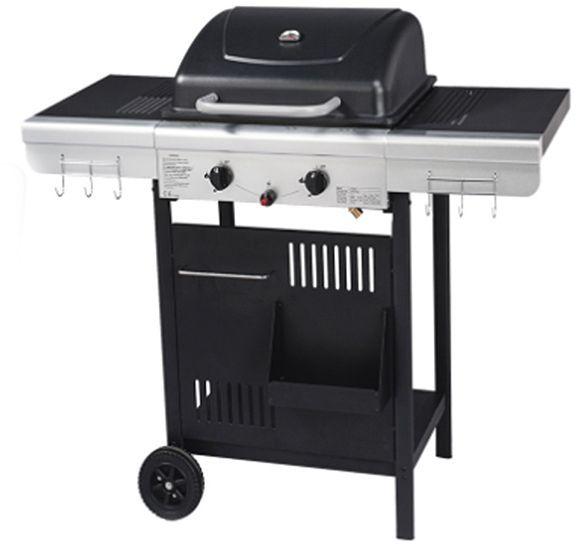 Barbecue Grill et Plancha 2 Feux 112x53x94cm