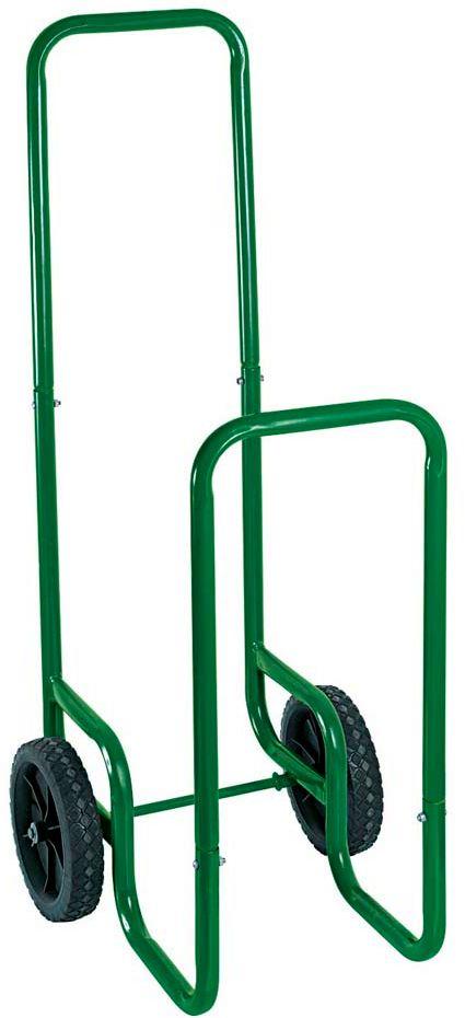 Chariot pour transport bûches 80 kg en Acier 30x45x105cm
