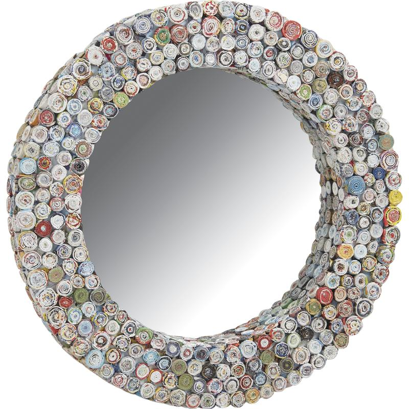 Miroir papier for Petit miroir original