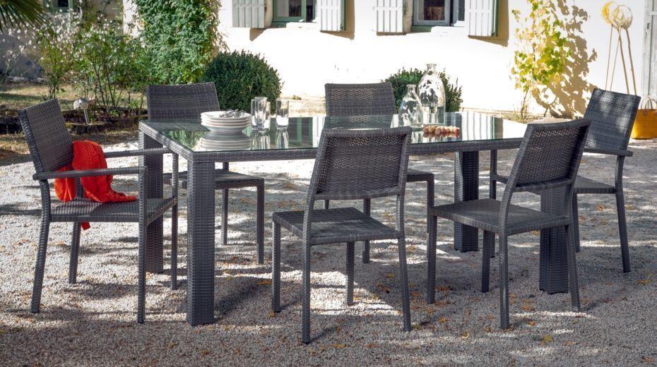 Recherche de salon de jardin modulo 1 table 10 fauteuils - Recherche table de jardin ...