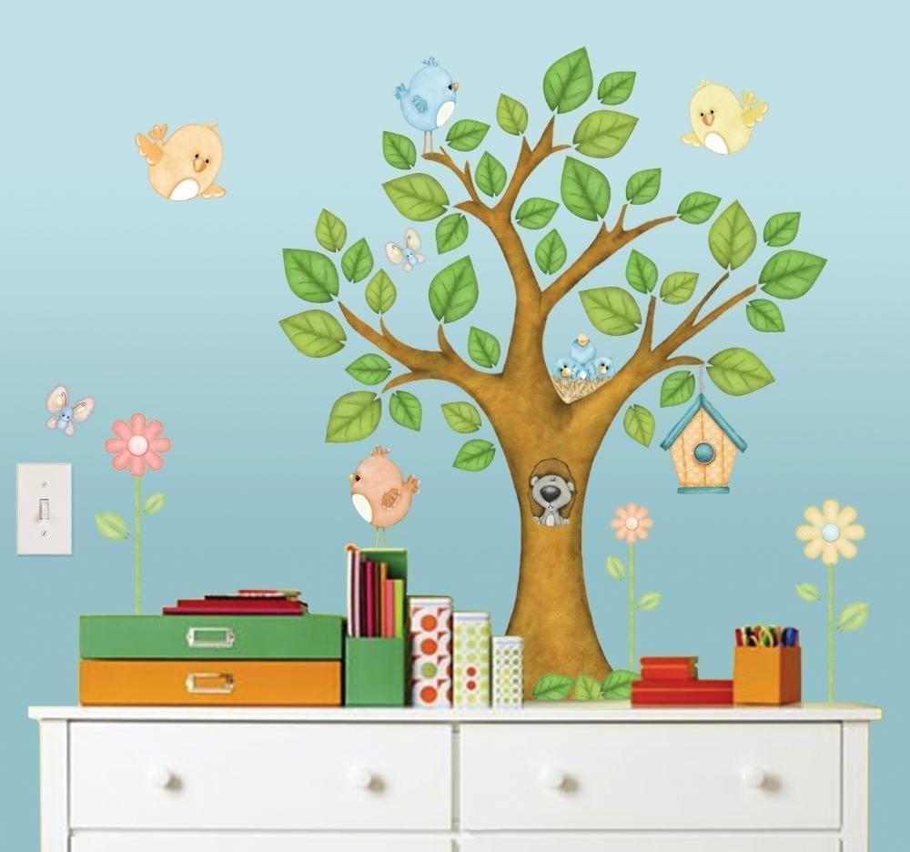 Stickers enfant Dans l'arbre