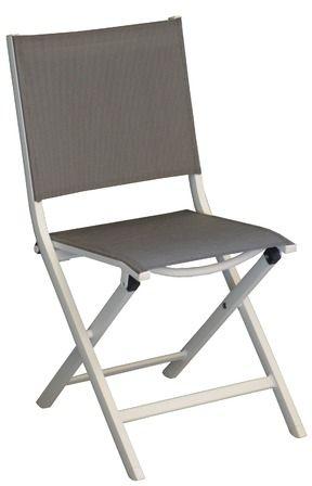 Bien choisir une chaise de jardin en aluminium pas ch re for Chaise jardin aluminium textilene