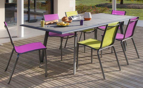 Chaise jardin for Table 6 en 1