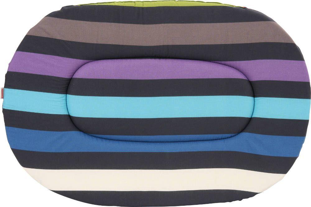 coussin oval bleu feria taille 3. Black Bedroom Furniture Sets. Home Design Ideas