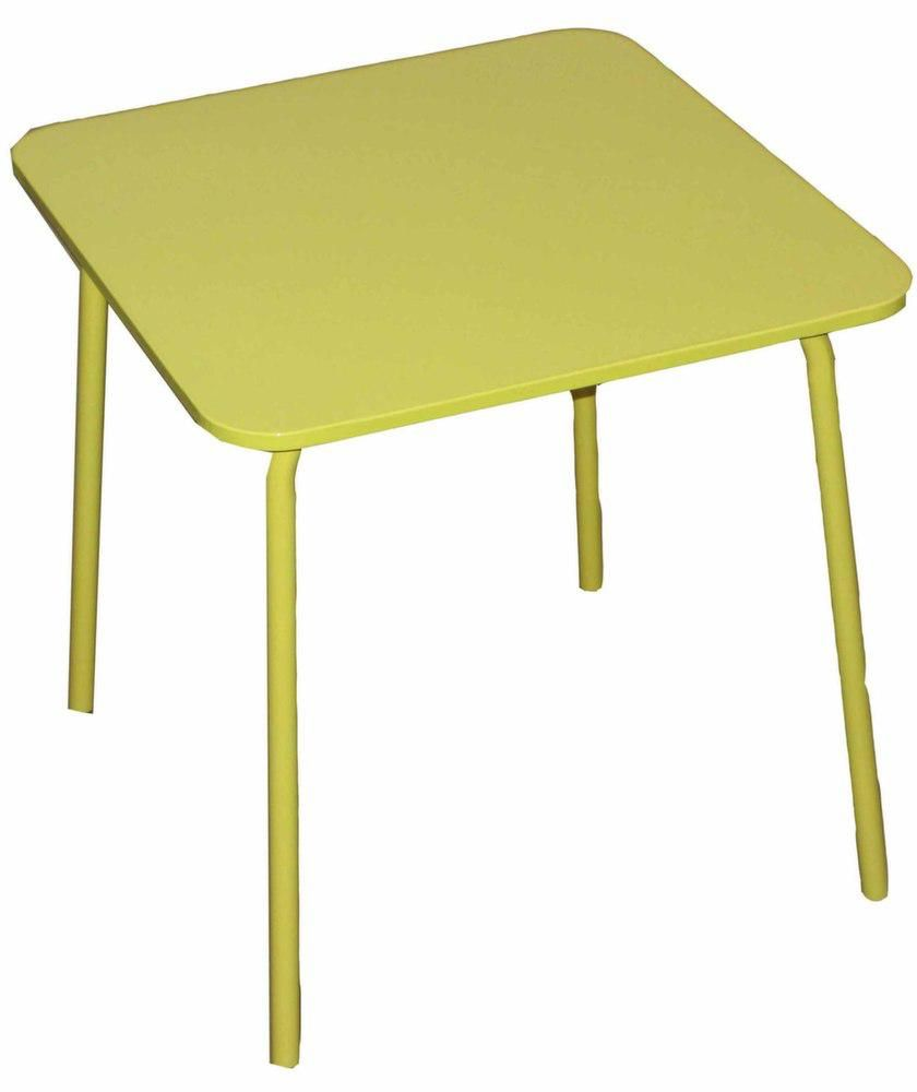 Maison jardin coloris jaune - Table de jardin enfant ...