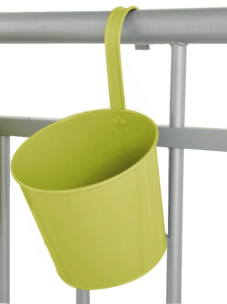 Pot de fleur balcon � suspendre Vert