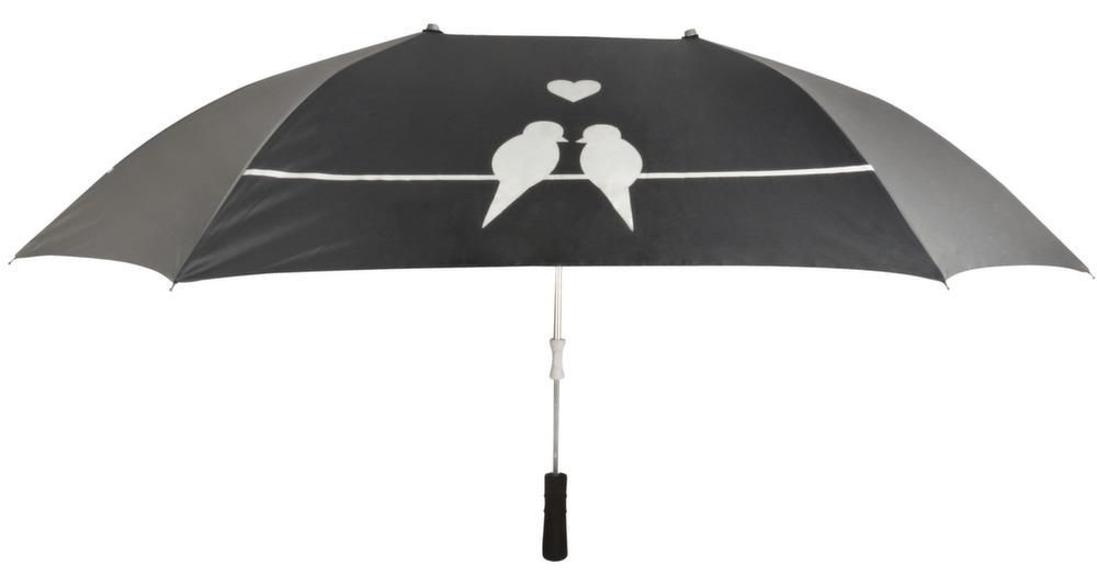 Parapluie double pour les amoureux