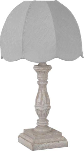 Lampe de chevet rétro lin