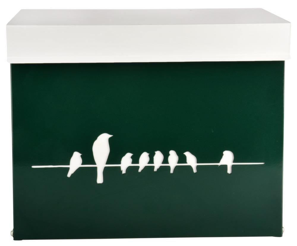 Boite à lettres Oiseaux sur un fil