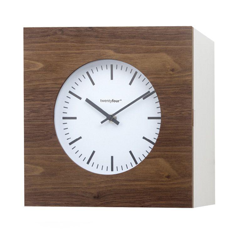 Horloge armoire à clés 2 en 1