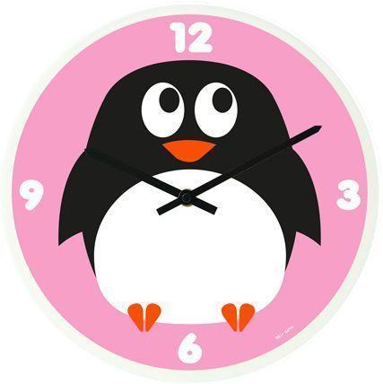 Horloge rigolote Pingouin 30cm