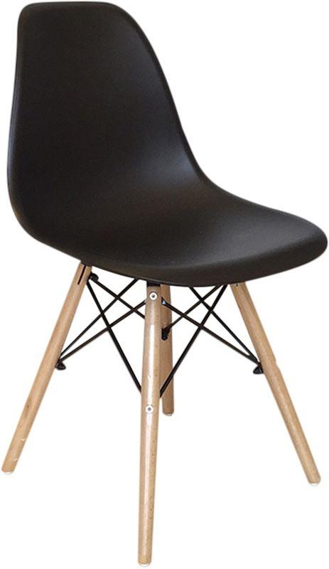 Treillis d co m tal for Chaise noire et bois