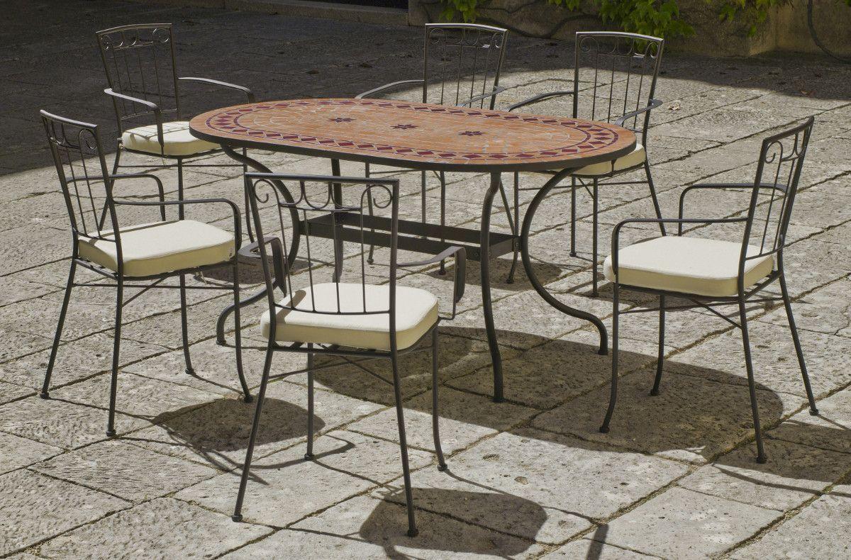 awesome salon de jardin avec table mosaique ideas. Black Bedroom Furniture Sets. Home Design Ideas