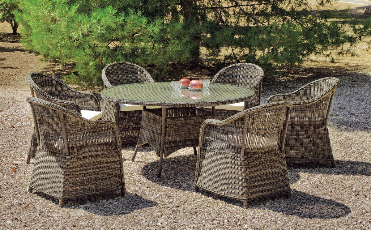 Recherche de table jardin ronde paille tress e amanada - Recherche table de jardin ...
