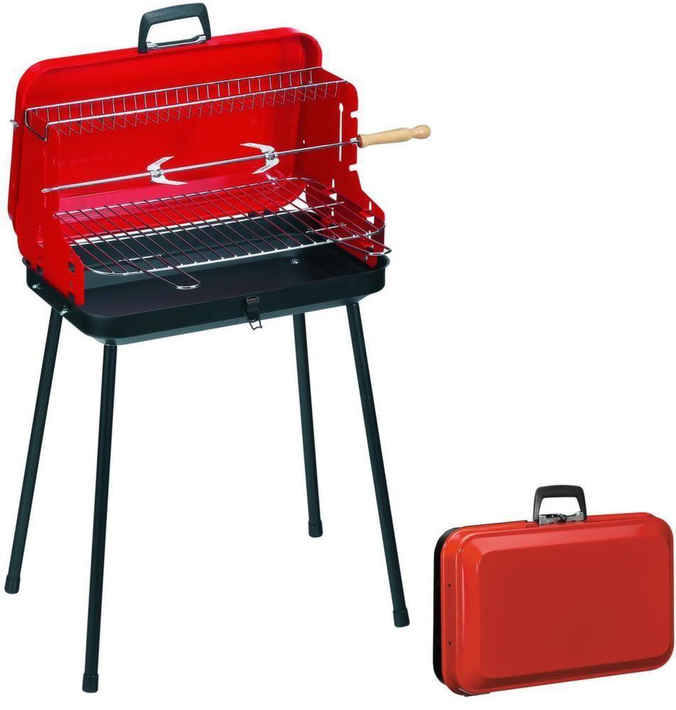 Grille cuisson - Barbecue portatif charbon ...