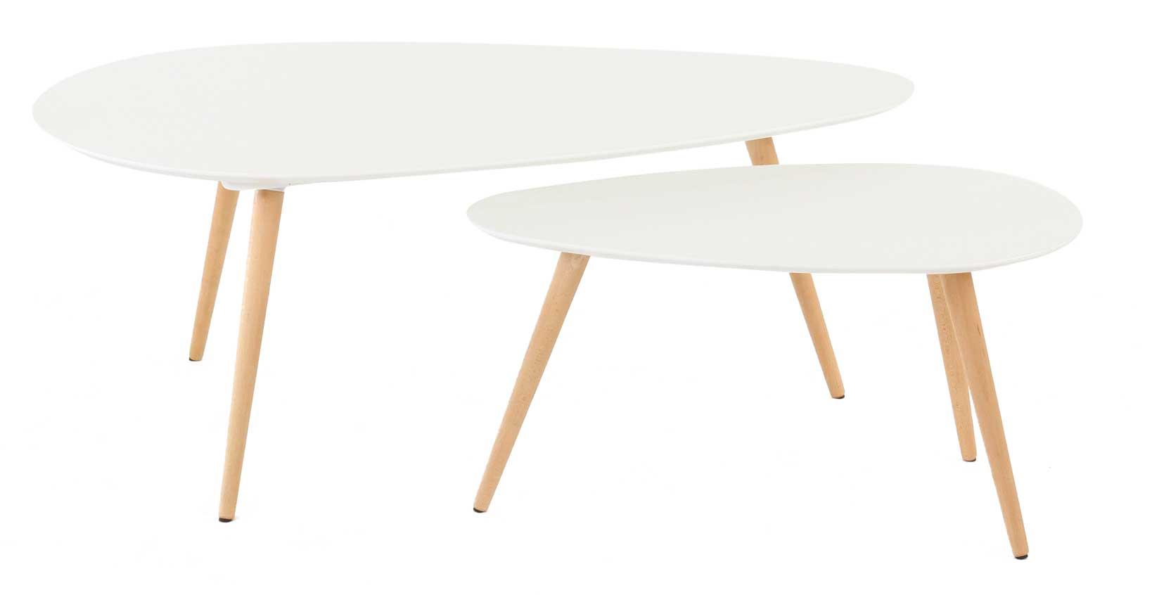 Meuble design - Table basse ovoide ...