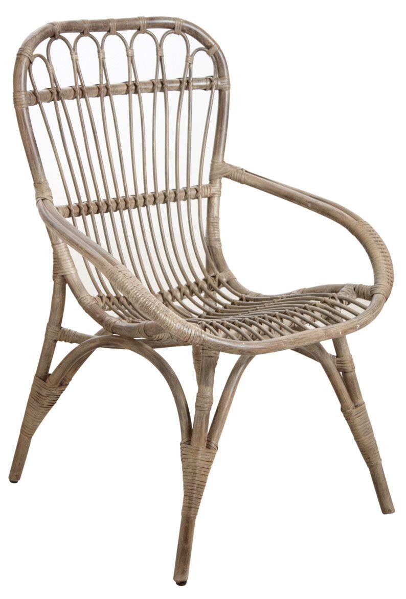 Convivialit int rieur - Peindre fauteuil en rotin ...