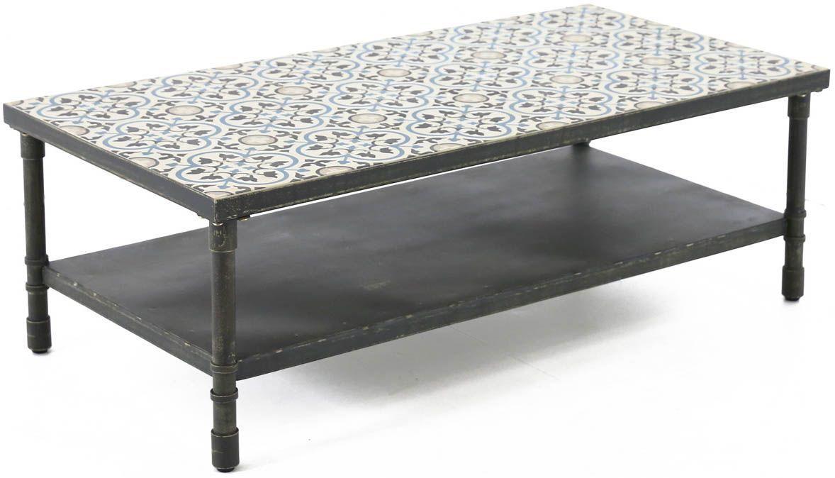Table jardin design style romantique naturel - Table basse romantique ...