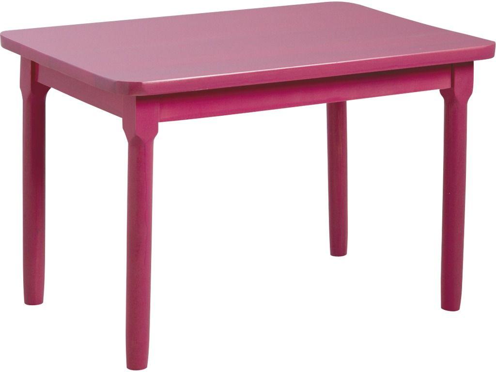 Table enfant en h tre bleu ebay - Table en hetre ...