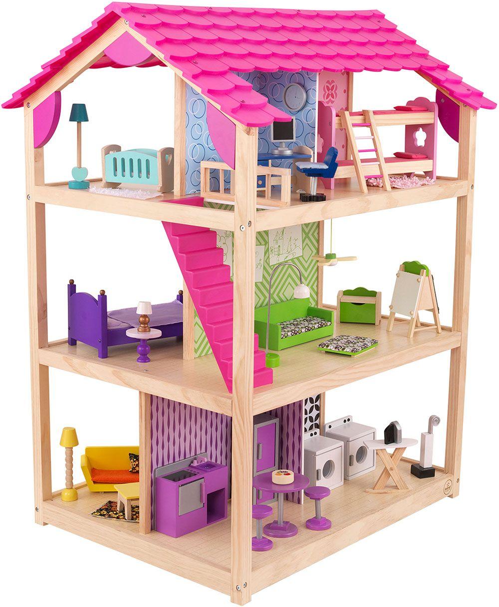 Maison de poupées So Chic avec roulettes