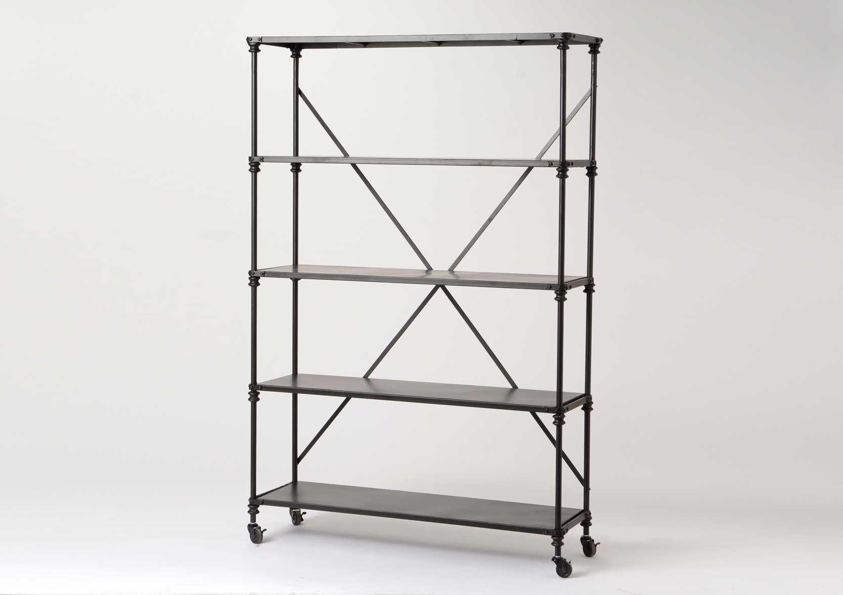 tag re large noire style industriel ebay. Black Bedroom Furniture Sets. Home Design Ideas