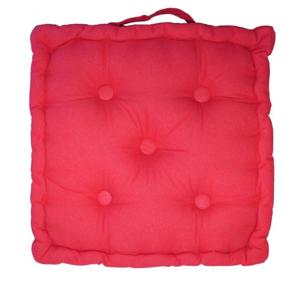 Coussin coton for Canape coussin de sol