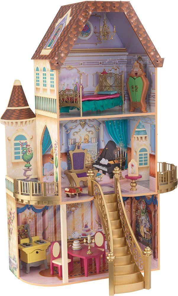 maison de poup es la belle enchant e disney ebay. Black Bedroom Furniture Sets. Home Design Ideas