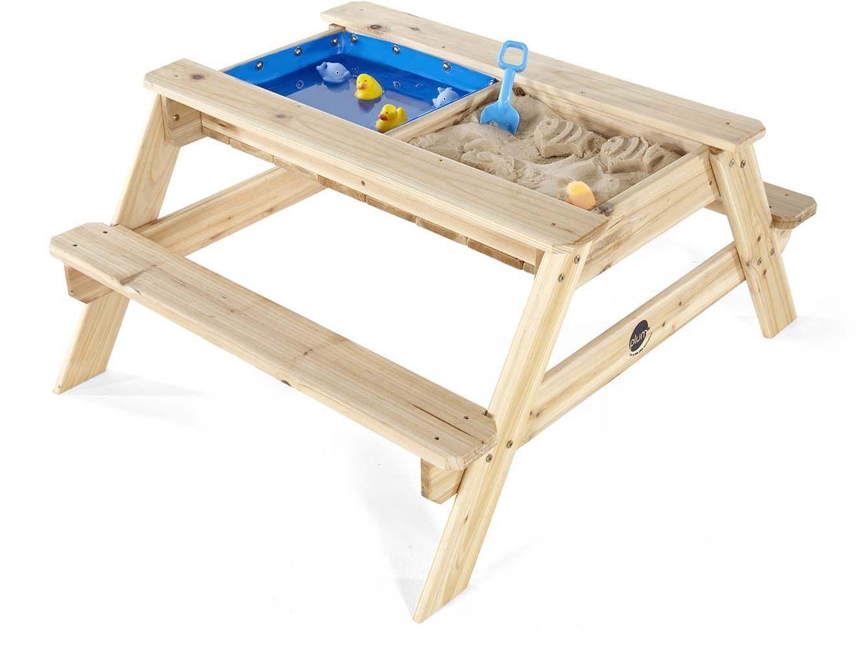 Solide bac bois arbuste - Table bac a sable bois ...