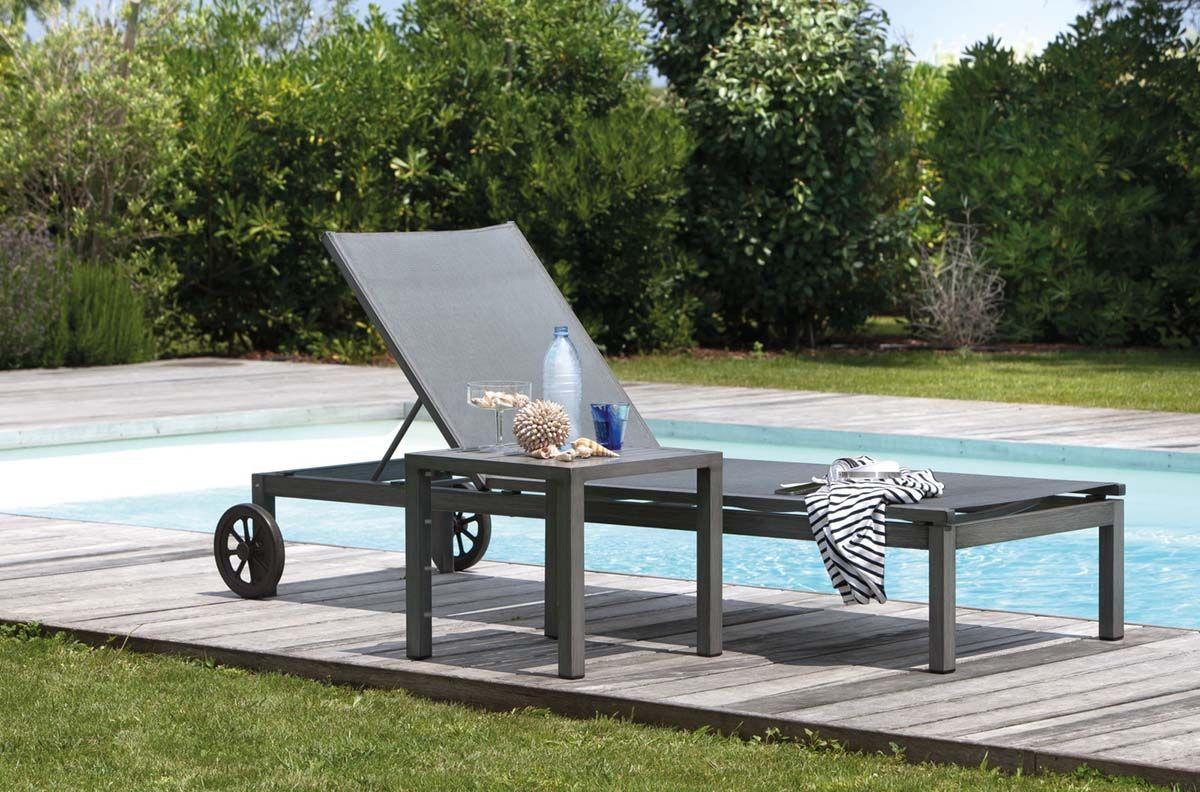 bain de soleil moderne dossier r glable cannes ebay. Black Bedroom Furniture Sets. Home Design Ideas