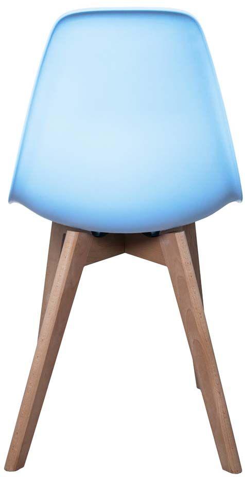 chaise enfant scandinave bois et polypropyl ne ebay. Black Bedroom Furniture Sets. Home Design Ideas