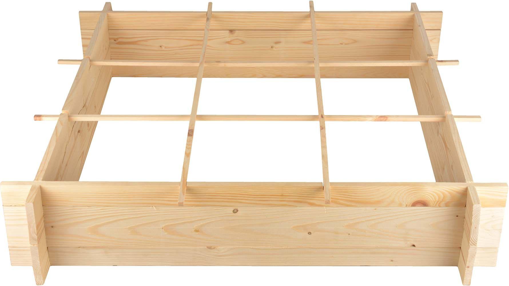 Carré potager en bois 1 mètre
