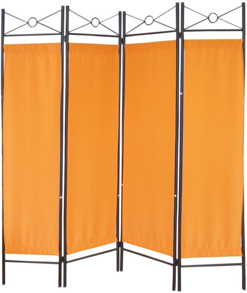 paravent 4 pans en m tal motif g om trique ebay. Black Bedroom Furniture Sets. Home Design Ideas