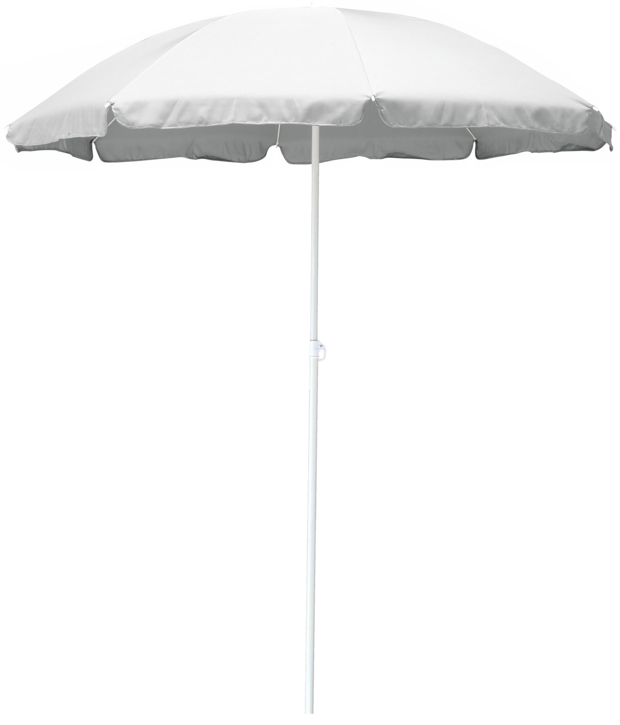 Parasol en aluminium et fibre de verre 180 cm Alizé