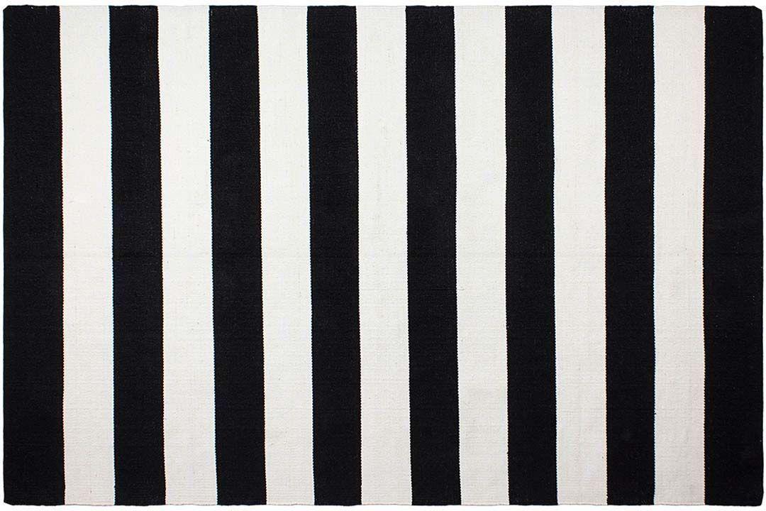 TAPIS INTÉRIEUR EXTÉRIEUR Nantucket noir et blanc - EUR 57 ...