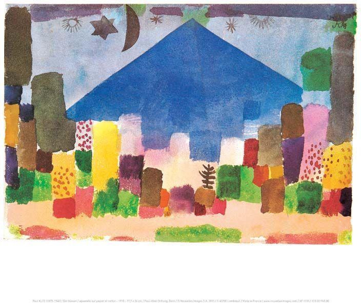 Affiche-Der-Niesen-P-Klee-30x40-cm