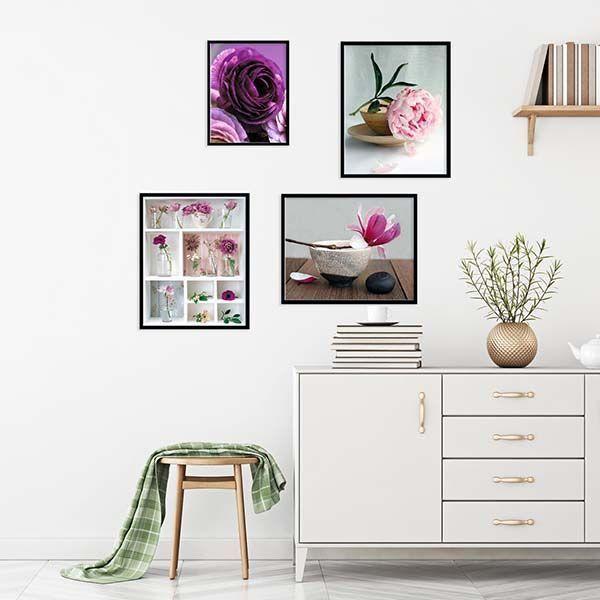 Affiche-Les-lys-blancs-A-Vuillon-40x50-cm miniature 2
