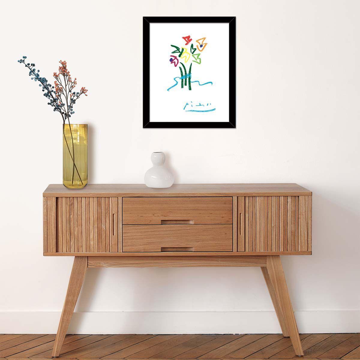 Affiche-Fleurs-du-soir-P-Picasso-40x50-cm miniature 2