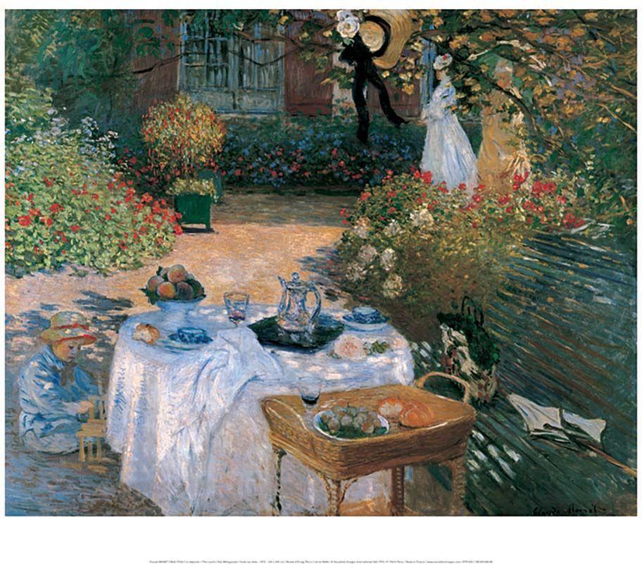 Affiche-Le-dejeuner-C-Monet-50x70-cm
