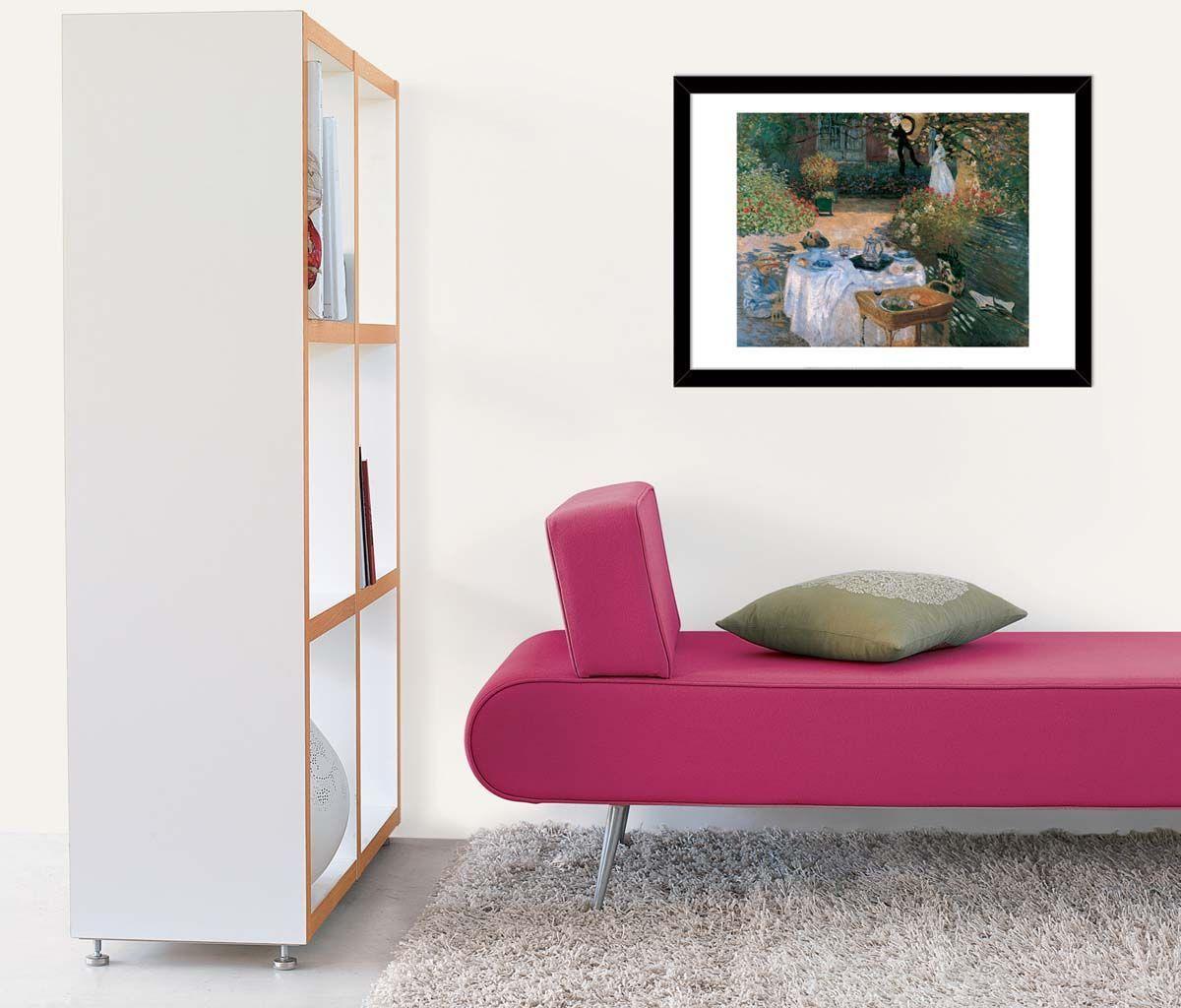 Affiche-Le-dejeuner-C-Monet-50x70-cm miniature 2